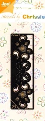 Chrissie Borduurstencil 6001-1020 Rand