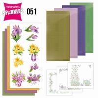 Sparkles Set 51 SPDO051 Spring Flowers