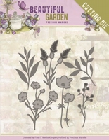 Marieke Beautiful Garden Dies PM10207 Flower Bouquet