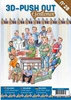 A4 Push Out Book 3D PO10028 Gentlemen/heren