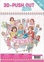 A4 Push Out Book 3D PO10027 Ladies/dames