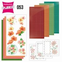 Sparkles Set 53 SPDO053 Exotic Flowers