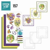 Stitch and Do borduursetje STDO157 Butterfly Touch