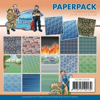 Yvonne Big Guys Professions YCPP10039 Paperpack