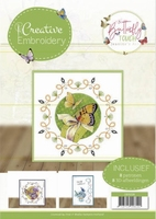 Creative Embroidery CB10026 Jeanine's Art Butterfly Touch
