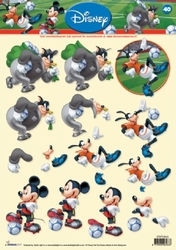 A4 Knipvel Studio Light Disney Mickey Mousse 40