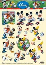 A4 Knipvel Studio Light Disney Mickey Mousse 41