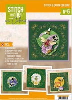 Stitch and Do on Colour 006 STDOOC10006 Jeanine Humming Bees