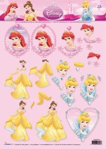 A4 Knipvel Studio Light Disney Princes fantasy 22