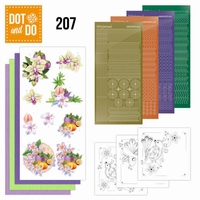 Dot and Do DODO207 Exotic Flowers