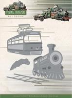 Amy Vintage Transport Dies ADD10252 Train/trein