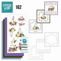 Stitch and Do borduursetje STDO162 Christmas Arrangement