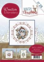 Creative Embroidery 29 CB10029 Yvonne Wintery Christmas