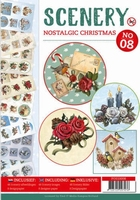 A4 Push Out book Scenery 8 POS10008 Nostalgic Christmas