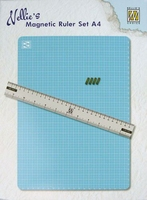 Nellie's Choice MAGM001 A4 Magnetic Ruler set