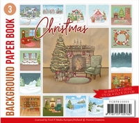 Background Paper Book 3 Yvonne Creation YCBPB10003 Christmas