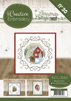 Creative Embroidery 30 CB10030 Jeanine Christmas Cottage