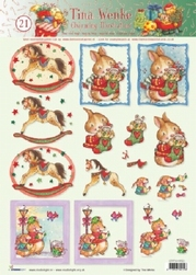 A4 Kerstknipvel Studio Light Charming Tina Wenke 21