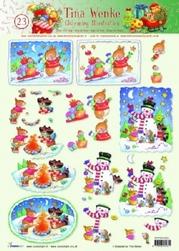 A4 Kerstknipvel Studio Light Charming Tina Wenke 23