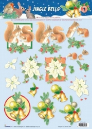 A4 Kerstknipvel Studio Light Jingle Bells 1