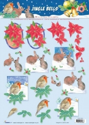 A4 Kerstknipvel Studio Light Jingle Bells 4