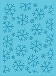 Cuttlebug Embossing stencil 37-1935 Ice Crystals