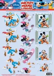 A4 Knipvel Studio Light Disney Mickey Mouse & Friends 36