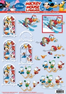 A4 Knipvel Studio Light Disney Mickey Mouse & Friends 33