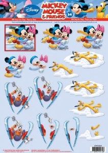 A4 Knipvel Studio Light Disney Mickey Mouse & Friends 34