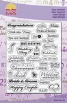 Kars Clear stempel UK/engels 1302 wedding