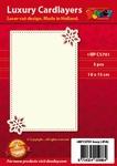 1 Doodey Luxe oplegkaart stans BPC5701 Sterren