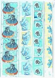 A4 Knipvel Marianne Design Shake it 432 borders jongen