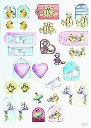 A4 Knipvel Marianne Design Shake it 435 label girl-speelgoed
