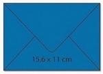 cArt-us Enveloppe rechthoek aquablauw 25 stuks