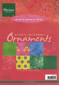 MD Pretty paper Bloc PB7015 Eline's Ornaments