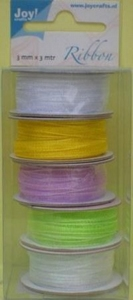 Joy organza 3mm Lint 6300-0003 pasen