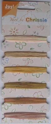 Borduurgaren Yarn by Chrissie  1 t/m 6