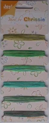 Borduurgaren Yarn by Chrissie 25 t/m 30