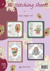 Ann's Paper Art 3D Stitching Sheets  8