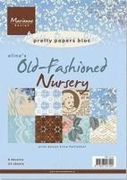 MD Pretty paper Bloc PB7014 Eline's Starry night