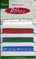Marianne D Pretty Ribbons Lint 8304 Hulstblaadjes
