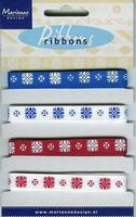 Marianne D Pretty Ribbons Lint 8303 Sneeuwvlokken
