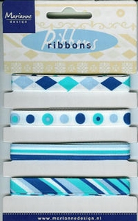 Marianne D Pretty Ribbons Lint 8306 aqua-blauw