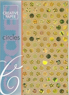 JEJE A4 Creative Paper Circles Goud