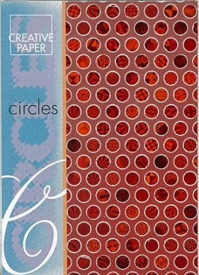 JEJE A4 Creative Paper Circles Rood