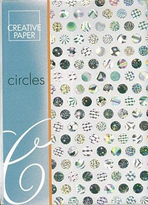 JEJE A4 Creative Paper Circles Zilver