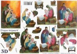 A4 Knipvel Le Suh 4169555 Geboorte van Jezus