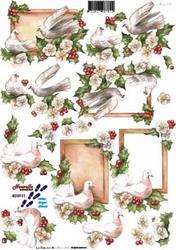 A4 Kerstknipvel Le Suh 8215111 Vredesduif
