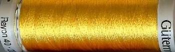 Rayon 40 Sulky 1023 uni geel