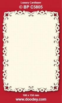 1 Doodey Luxe oplegkaart stans BPC5805 klassiek 2